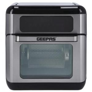Geepas GAF37518 9 In 1 Convection Air Fryer 10 L 1500 W Silver