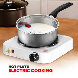 Hot Plate Electric Cooking Hp-100a Single Burner 1000 Watt Dorm