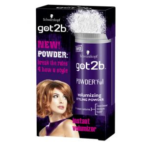 Got2B Schwarzkopf PowderFul Volumizing Styling Powder 10G