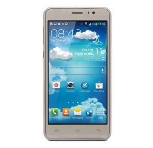 Enet A8 Smartphone, Android, 5.0 Inch HD Display, 1GB RAM, 4GB Storage, Dual Camera, Dual Sim- Gold