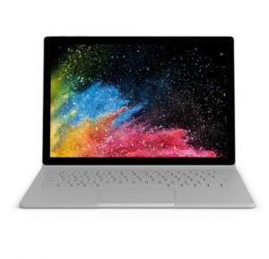 Microsoft Surface Book2 Silver 256GB i7 8650 U Quad Core 8GB NVIDIA GeForce GTX 1050 Discrete GPU w/2GB GDDR5 13.5 Inch - English / Arabic - TRA,HN6-00018