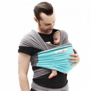 Love Radius The JPMBB Original Baby Wrap, Grey and Blue