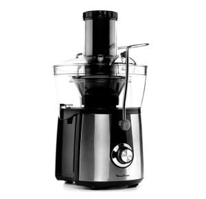 Moulinex JU550D27 Juice Extractor 800W - Xxl Feed Tube - Pulp Container - Safety Lock - Stainless Steel - Silver Color