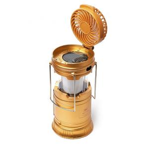 Multifunctional Emergency Lamp Folding Mini Fan and Solar Oamping Lamp