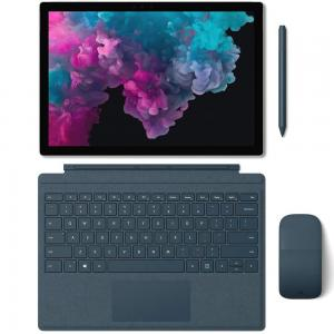 Microsoft Surface Pro 6, i7 Processor, RAM 8GB, Storage 256GB, W10-PRO Platinum 1 Year