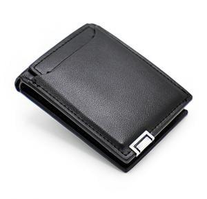 Jiansu Leather Wallet - 18S-17 Black