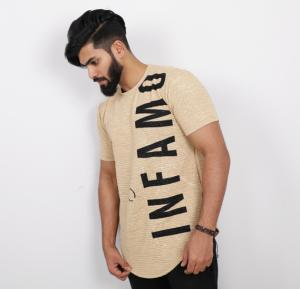 Nansa Mens Tshirt Brown - NAABF15611X - XXL