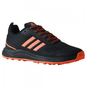 Adidas Ultra Boost Mens Shoe Black with Orange