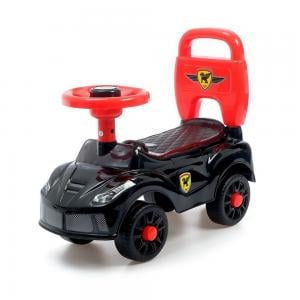 DAT Walking Car with Light,  Music & Story Black Color, LB-84