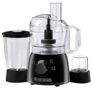 Black and Decker KR42-B5 Food Processor With 29 Functions, Black