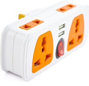 Multi Sockets with 2 port USB UK Plug