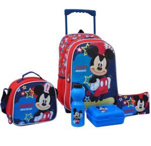Mickey Animated Fun Promotion Trolley Bag 16 Tr - 162-MAF0001-16