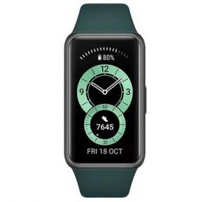 Huawei Band 6 Fitness Tracker With All Day SpO2 Monitoring Forest Green