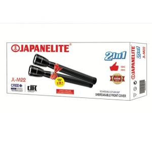Japanelite 2 in 1 Rechargeable LED Flashlight JL-M22