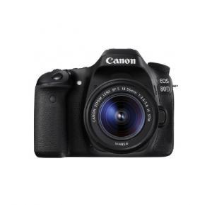 Canon EOS 80D Digital SLR Kit with EF-S 18-55mm f/3.5-5.6 Image Stabilization STM Lens