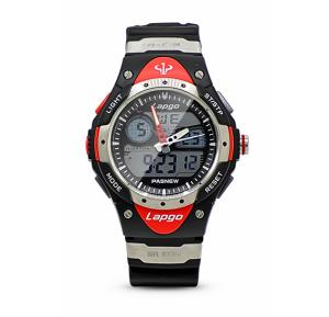 Lapgo Sport swimming watch with 100 meter Underwater resistance capacity, PLG-388AD-N5, Bait Al