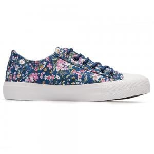Springfield Womens Casual Shoes Color Blue With Flowers
