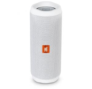 JBL Flip 4 Portable Wireless Speaker - White