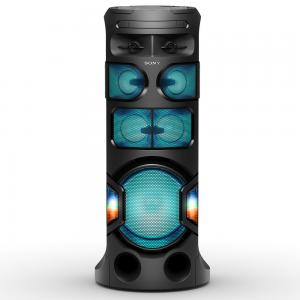 Sony MHC-V81D High Power Portable Party Music System with 360 Degree Sound and Light, Black