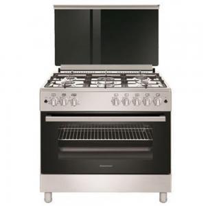 WestPoint WCLR-9650G0CIID Gas Cooker 90x60 cm Black