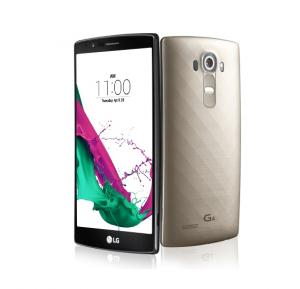 LG G4 Smartphone, 4G, Android 5.1, 5.5 Inch Display, 3GB RAM, 32GB Storage, Dual Camera, Wifi- Gold