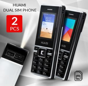 Buy 1 get 1 free Huami Dual SIM Phone with MP3 Player, Camera