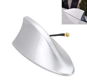 Universal Car Truck Roof Shark Fin Antenna Radio Signal Aerial Silver