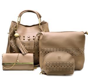 4 in 1 Ladies Bag set 064 Beige