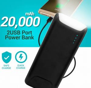 Power Box Lighthouse Series 20000 mAh Capacity 2 USB Port Power Bank