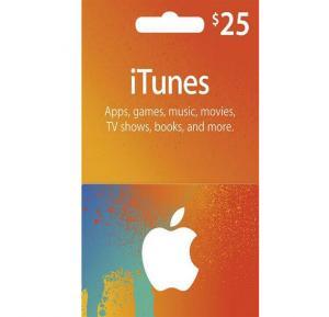Apple iTunes $25