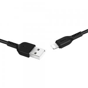 Hoco Flash Lightning Charging Cable L 1M Black, X20