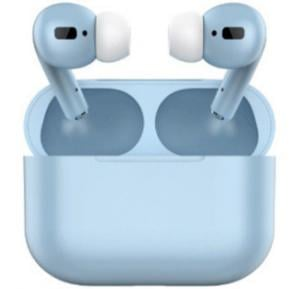 TWS Airpod Pro 3 Bluetooth Earphones Wireless Headset, Blue