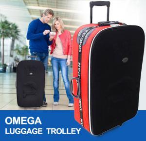 Omega Luggage Trolley Black
