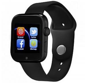 BSNL A92 Smart Watch, With Single SIM Option - Black