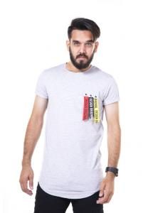 Kenyos Short Sleeve T-Shirt For Men White NAABF31626X - M