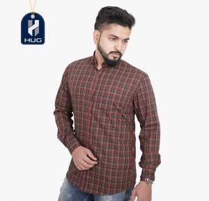 HUG Mens Casual Shirts Size XL - OCRD0107