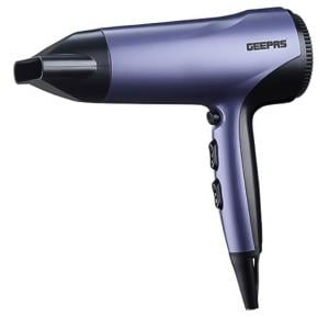 Geepas Travel Hair Dryer 3 Heat Cool shot Ionic 1x12,GHD86017
