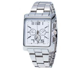 Generic Business Quartz Watches Top Brand Luxury MH Mens Wrist Watch - White