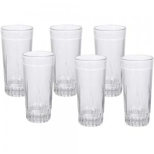 Royalford Glass Tumbler 230ml 6piece Set Multi-Color, RF9682