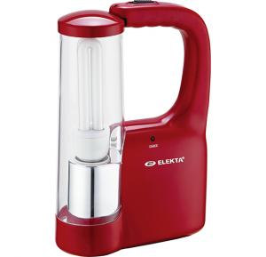 Elekta Rechargeable Emergency Lantern - Red