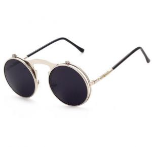Generic Sunglasses Round Black
