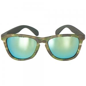 Sprinfield Sunglass  Green With Light Blue Lens