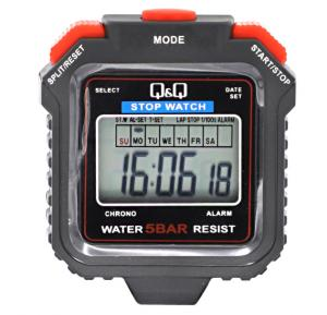Q and Q 5 bar water resistant Stop watch, STGT005