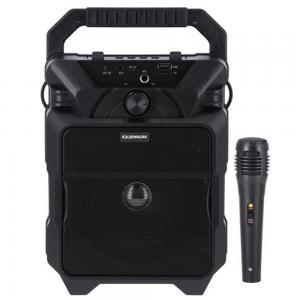 Olsenmark OMMS1282 Portable Bluetooth Speaker with DJ LED Lights