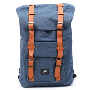 Okko Casual Backpack 18 Inch, Blue,OK33800