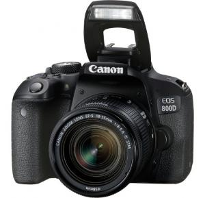 Canon EOS 800D 24.2MP Digital SLR Camera with EF-S 18-55mm is STM Lens