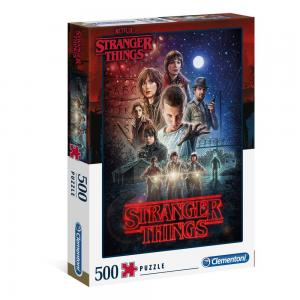 Clementoni Adult Puzzle Netflix Stranger Things 500 PCS, 6800000365