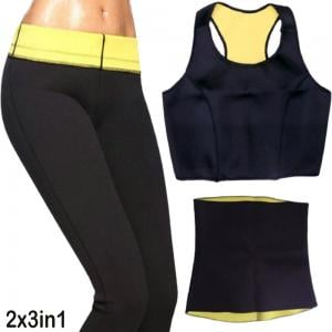 2pc bundle of 3 in 1 Body Hot Shapers XXL