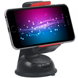 Promate Car Holder Car Mount Holder for Smartphone and GPS, Mount-2 Red