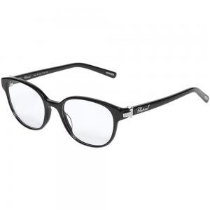 Chopard VCH198S Black Oval Women Eyeglasses